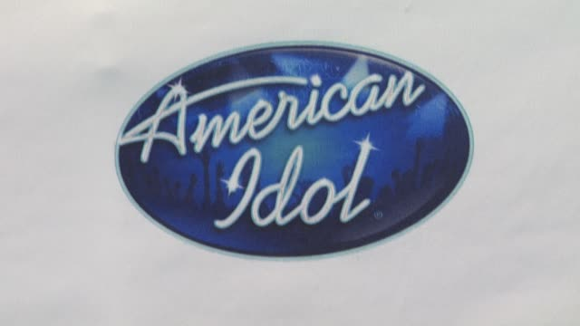 atmosphere at the 'american idol' top 24 semi-finalists event at west hollywood ca. - 準決勝点の映像素材/bロール