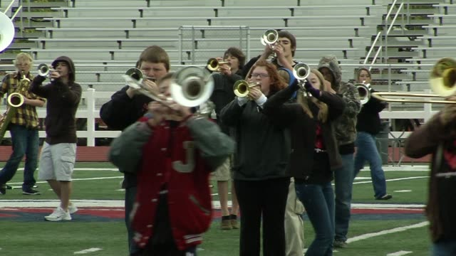 atmosphere at the barry manilow brings music back to joplin students at joplin mo. - barry manilow stock videos & royalty-free footage