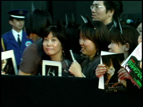 atmosphere at the 'batman begins' press conference and premiere at roppongi hills in tokyo on may 31 2005 - roppongi hills stock videos and b-roll footage