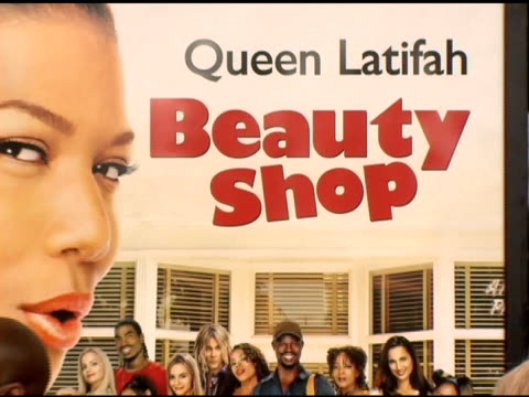 atmosphere at the 'beauty shop' world premiere at the mann national theatre in westwood, california on march 24, 2005. - mann national theater video stock e b–roll