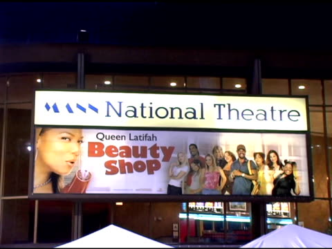 atmosphere at the 'beauty shop' world premiere at the mann national theatre in westwood california on march 24 2005 - mann national theater stock videos & royalty-free footage