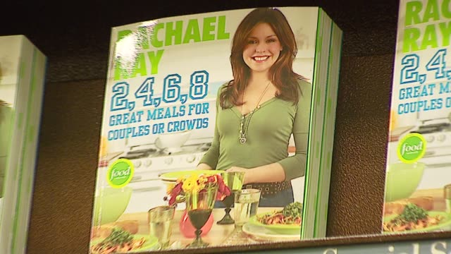 Atmosphere at the Book Signing of '2 6 8 Great Meals for Couples or Crowds' by Rachael Ray at Barnes Noble at The Grove in Los Angeles California on...