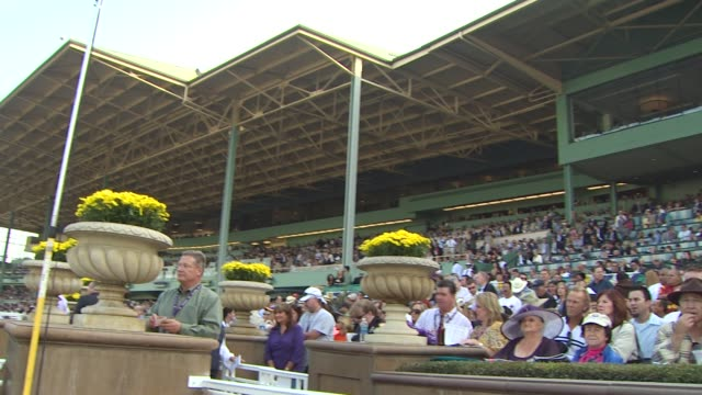 atmosphere at the breeders' cup world thoroughbred championships at arcadia ca - championships stock videos & royalty-free footage