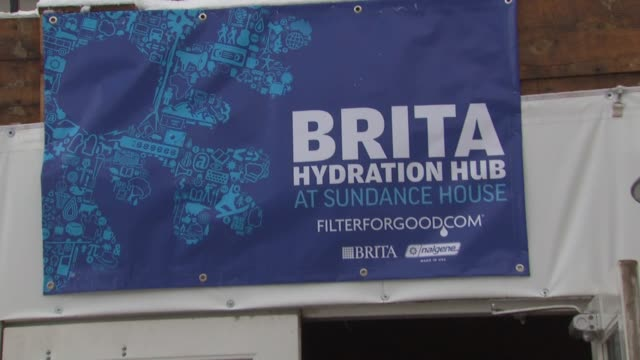 atmosphere at the brita filterforgood film project at the 2011 sundance film festival at park city ut. - atmosphere filter stock videos & royalty-free footage