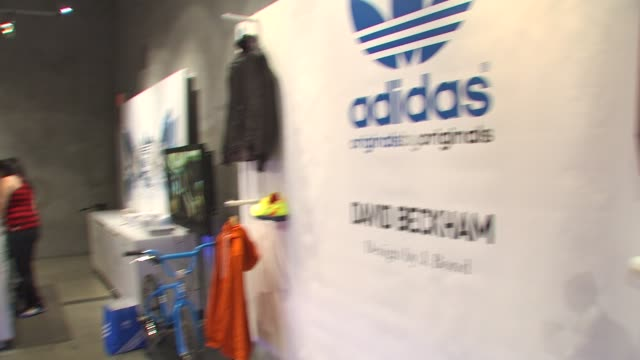 Atmosphere at the David Beckham And James Bond Launch adidas Originals By Originals Line at Los Angeles CA