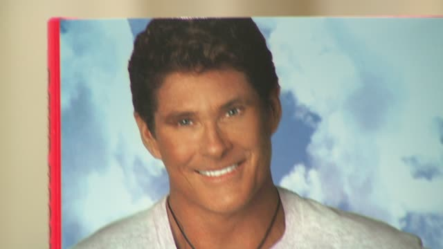 atmosphere at the david hasselhoff book signing for 'don't hassel the hoff' at barnes noble bookstore in new york new york on june 5 2007 - barnes & noble stock videos and b-roll footage