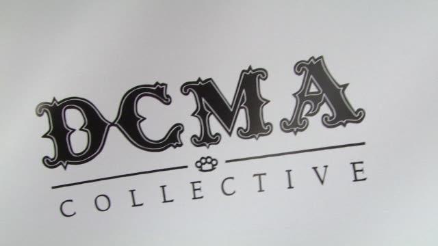 vídeos de stock, filmes e b-roll de atmosphere at the dcma collective celebrates grand opening of flagship store on march 15 2008 - inauguração de loja