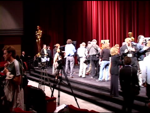 atmosphere at the directors of oscar nominated foreign language films at academy of motion picture arts and sciences in beverly hills california on... - academy of motion picture arts and sciences stock-videos und b-roll-filmmaterial