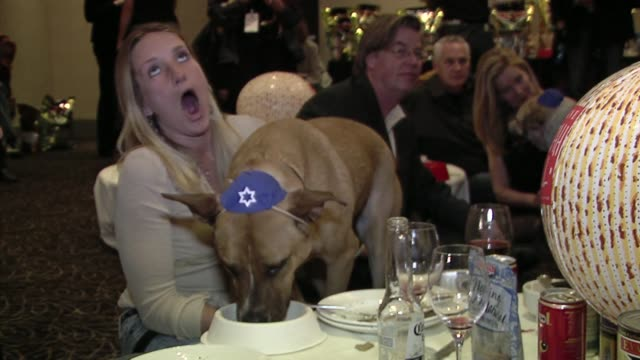Atmosphere at the Evanger's Presents 'Passover Seder For Dogs' Hosted By Dog News Daily at Los Angeles CA