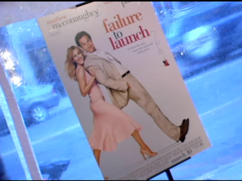 atmosphere at the 'failure to launch' new york premiere at chelsea west in new york, new york on march 8, 2006. - failure to launch stock videos & royalty-free footage