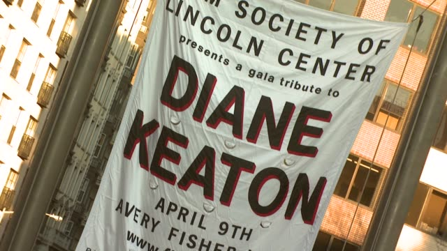 Atmosphere at the Film Society of Lincoln Center Tribute to Diane Keaton at Avery Fisher Hall in New York New York on April 9 2007