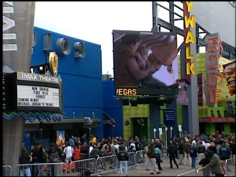 atmosphere at the 'Flintstones Viva Rock Vegas' Premiere at Universal Studios Cinema in Universal City California on April 15 2000