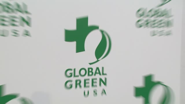 atmosphere at the global green usa's 6th annual pre-oscar party benefiting green schools at los angeles ca. - oscar party stock videos & royalty-free footage