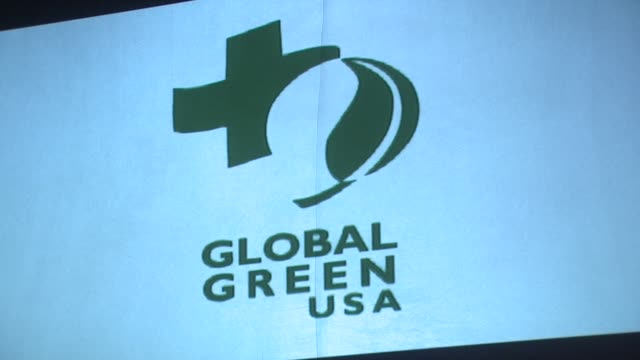 atmosphere at the global green usa's 6th annual preoscar party benefiting green schools at los angeles ca - pre party stock videos and b-roll footage