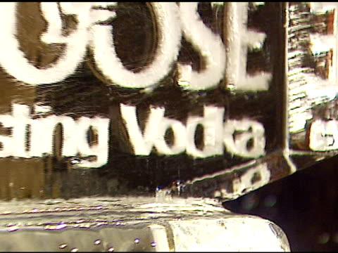 atmosphere at the grey goose vodka unveiling of its new customized rolls-royce phantom on january 11, 2007. - ロールスロイスシルバーファントム点の映像素材/bロール