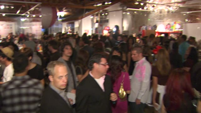 atmosphere at the hello kitty's 35th anniversary celebration at culver city ca - hello kitty stock videos and b-roll footage