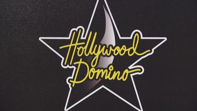 vídeos de stock, filmes e b-roll de atmosphere at the hollywood domino's 3rd annual pre-oscar hollywood gala at beverly hills ca. - festa do oscar
