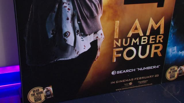 atmosphere at the i am number 4 special screening at london england. - number 4 stock videos & royalty-free footage