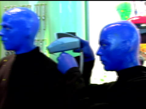 Atmosphere at the Introduction of 'Swatch Blue' by Blue Man Group at Swatch Times Square Store in New York New York on August 17 2006