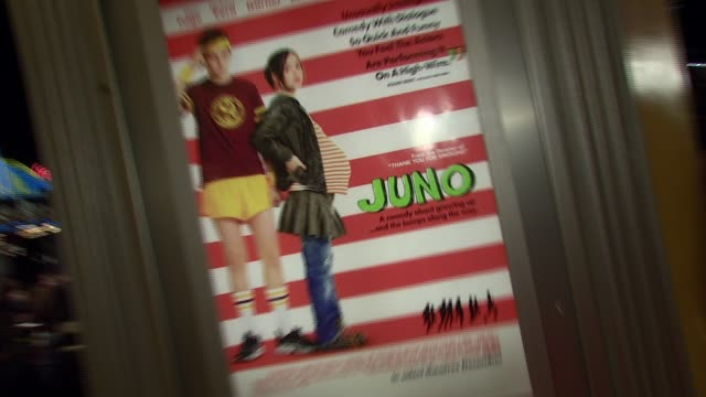 atmosphere at the 'juno' premiere at the mann village theatre in westwood california on december 3 2007 - regency village theater stock videos & royalty-free footage