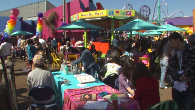 Atmosphere at the Kevin Steffiana James Host A MakeAWish Event at Santa Monica CA