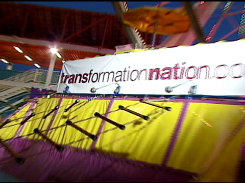 atmosphere at the kohl's and conde nast media group present the kohl's transformation nation fall fashion show at santa monica pier in santa monica,... - conde nast media group stock videos & royalty-free footage