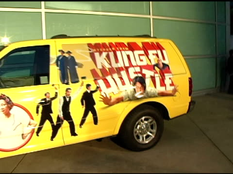 atmosphere at the 'kung fu hustle' los angeles premiere at arclight cinemas in hollywood california on march 29 2005 - arclight cinemas hollywood stock videos and b-roll footage