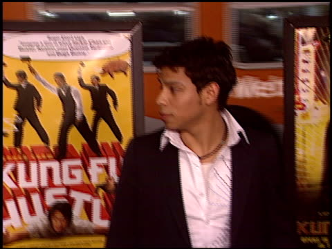 atmosphere at the 'kung fu hustle' premiere at the cinerama dome at arclight cinemas in hollywood, california on march 29, 2005. - arclight cinemas hollywood stock videos & royalty-free footage