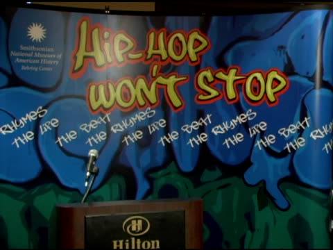 Atmosphere at the Launch of 'HipHop Wont Stop The Beat the Rhymes The Life Collection Initiative' for the Smithsonian Institution at Hilton New York...