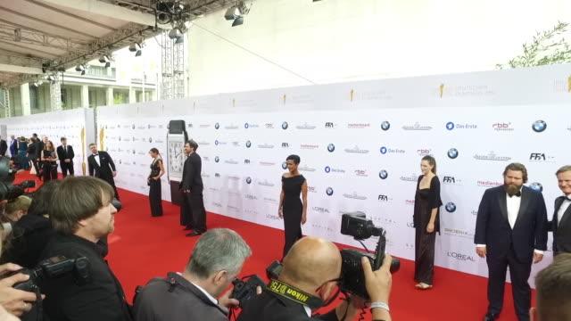 Atmosphere at the Lola German Film Award at Messe Berlin on May 27 2016 in Berlin Germany