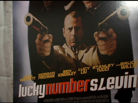 Atmosphere at the 'Lucky Number Slevin' New York Premiere at the Ziegfeld Theatre in New York New York on March 21 2006