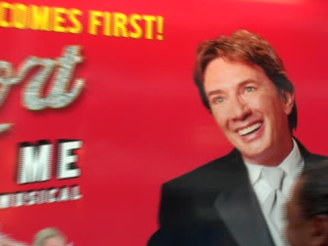 atmosphere at the martin short: fame becomes me broadway premiere at the bernard b. jacobs theatre in new york, new york. - martin short stock videos & royalty-free footage