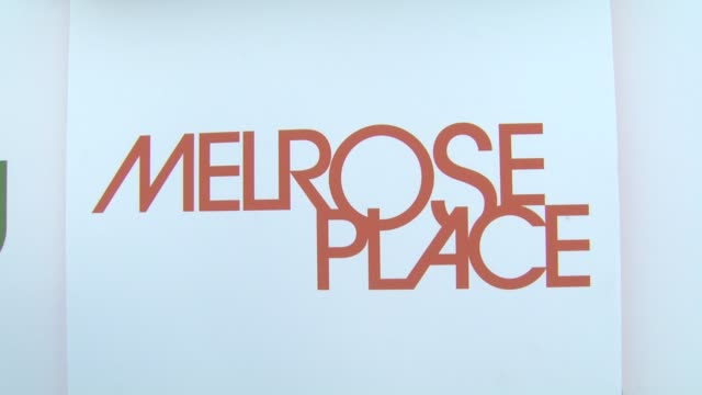 atmosphere at the 'melrose place' premiere party at west hollywood ca. - 肥皂劇 個影片檔及 b 捲影像