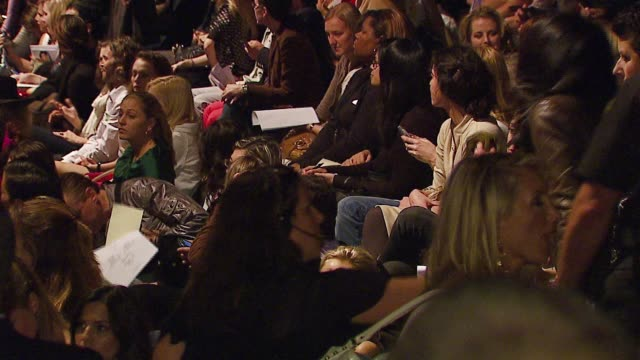 Atmosphere at the MercedesBenz Fall 2007 LA Fashion Week Imitation of Christ Runway at Smashbox in Culver City California on March 19 2007