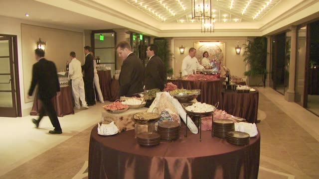 atmosphere at the montage beverly hills opening at los angeles ca. - montage beverly hills stock videos & royalty-free footage