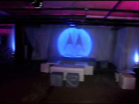 atmosphere at the motorola's 2nd annual late night lounge at motorola lodge in park city, utah on january 23, 2005. - motorola stock videos & royalty-free footage