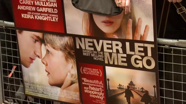 Atmosphere at the Never Let Me Go Premiere 54th BFI London Film Festival at London England