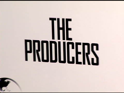 Atmosphere at the New York Premiere of 'The Producers' at the Ziegfeld Theatre in New York New York on December 4 2005