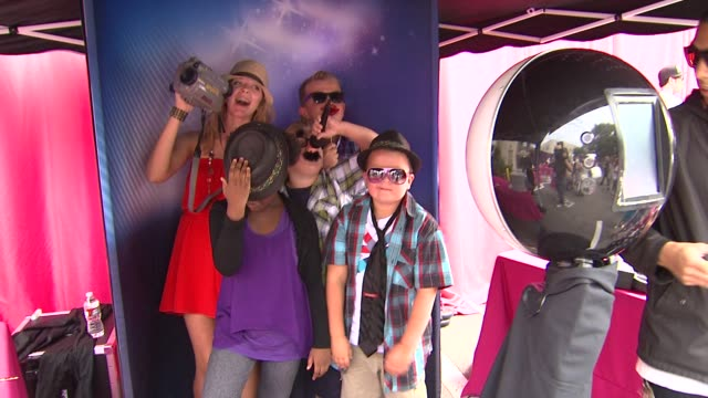 Atmosphere at the Nickelodeon's 'iParty With Victorious' Premiere at West Hollywood CA