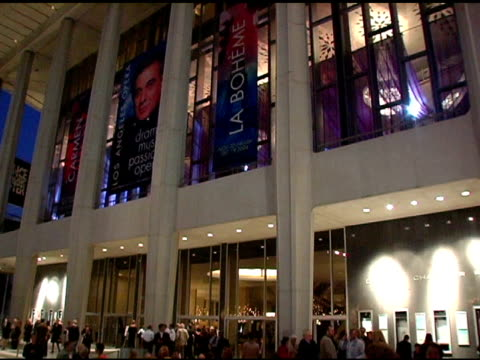 atmosphere at the nyc ballet gala to benefit the center dance association at the music center at dorothy chandler pavilion in los angeles california... - dorothy chandler pavilion stock videos and b-roll footage