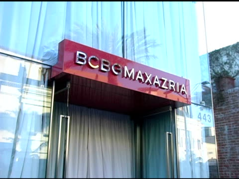 Atmosphere at the Opening of the new BCBG Max Azria Flagship Store Hosted By Max and Lubov Azria Sarah Michelle Gellar and Vanity Fair at BCBG Max...