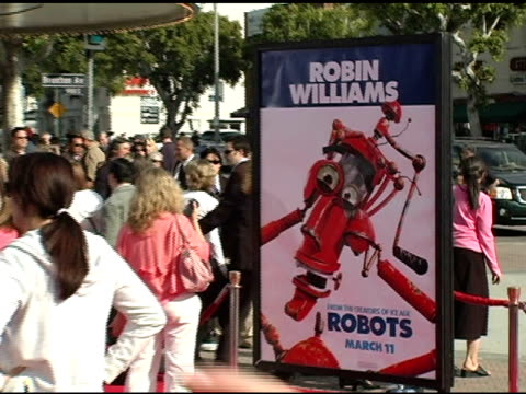 Atmosphere at the 'Robots' World Premiere at the Mann Village Theatre in Westwood California on March 6 2005