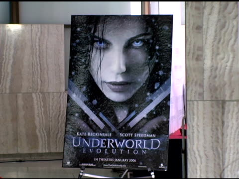 Atmosphere at the Screen Gems' 'Underworld Evolution' World Premiere at the Cinerama Dome at ArcLight Cinemas in Hollywood California on January 11...