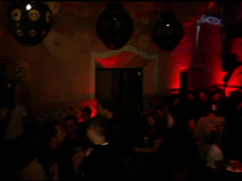 atmosphere at the short list of music awards show afte-party hosted by cargo magazine and xm at spider club in los angeles, california on november... - house spider stock videos & royalty-free footage