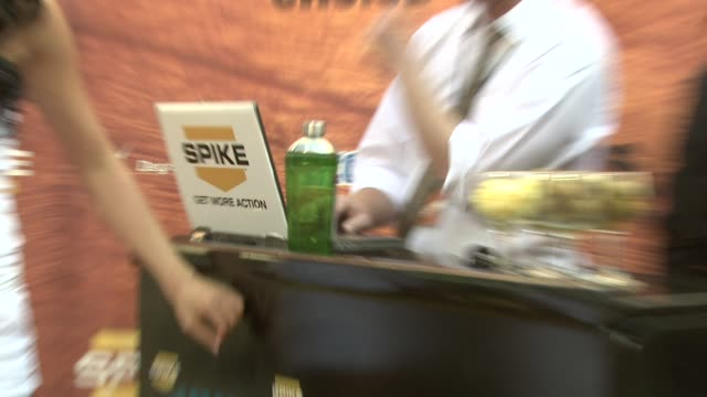 atmosphere at the spike tv's 2nd annual guys' choice awards at sony studios in los angeles california on may 31 2008 - spike guys choice awards video stock e b–roll