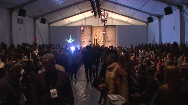 Atmosphere at The Tent Bryant Park in New York City at the MercedesBenz Fashion Week Fall 2009 Tracy Reese Runway at New York NY