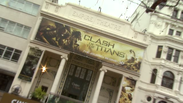 atmosphere at the the clash of the titans at london england - clash of the titans stock videos & royalty-free footage