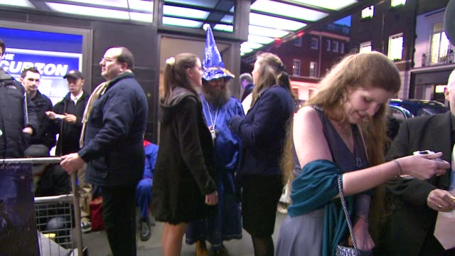 Atmosphere at the The Colour of Magic Premiere at Curzon Mayfair in London on March 3 2008