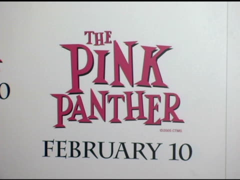 Atmosphere at the 'The Pink Panther' World Premiere at the Ziegfeld Theatre in New York New York on February 6 2006