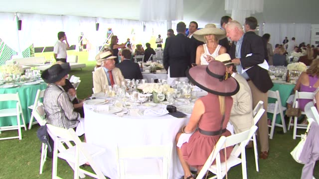 Atmosphere at the Tiffany Co Sponsors The Foundation Polo Challenge at Santa Barbara CA